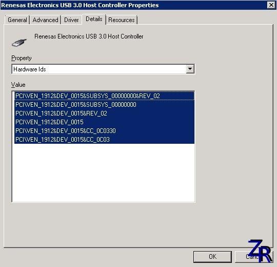 Renesas Electronics USB 3.0 Host Controller v3.0.23.0 (21.08.2012)
